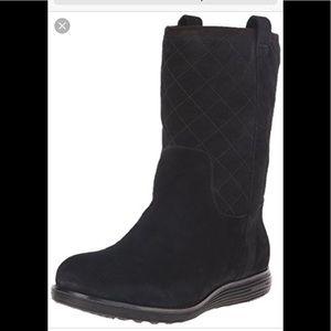 Cole Haan Suede Roper Boots